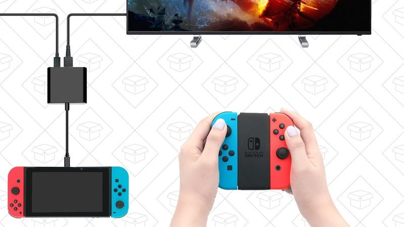FastSnail Portable Switch Dock | $31 | Amazon | Clip the 5% coupon