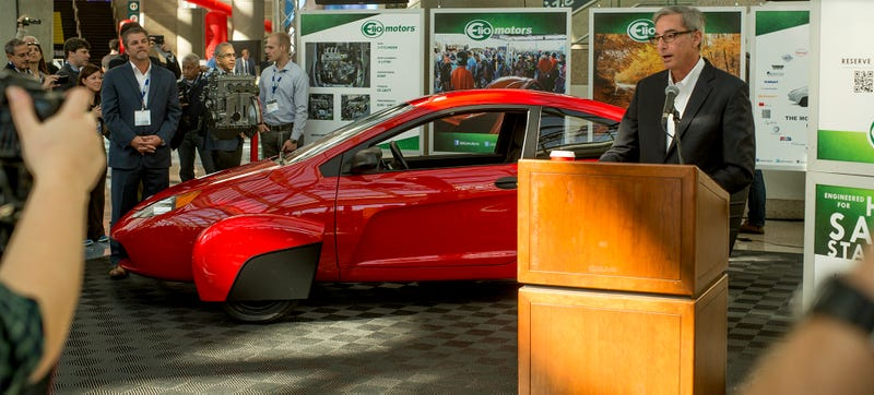 Illustration for article titled The Elio Is America's Next Great Demi-Car For Freaks And Weirdos