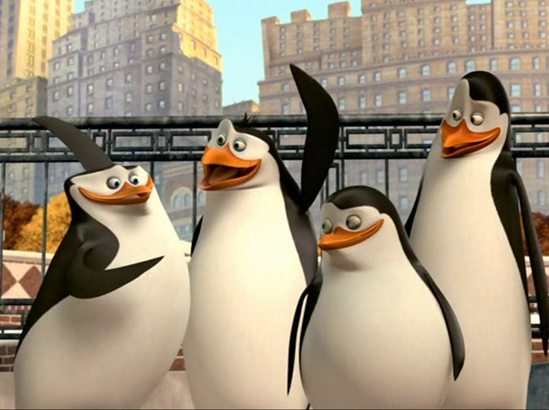 Illustration for article titled Penguins Of Madagascar Switch Meant To Assure Box-Office Success