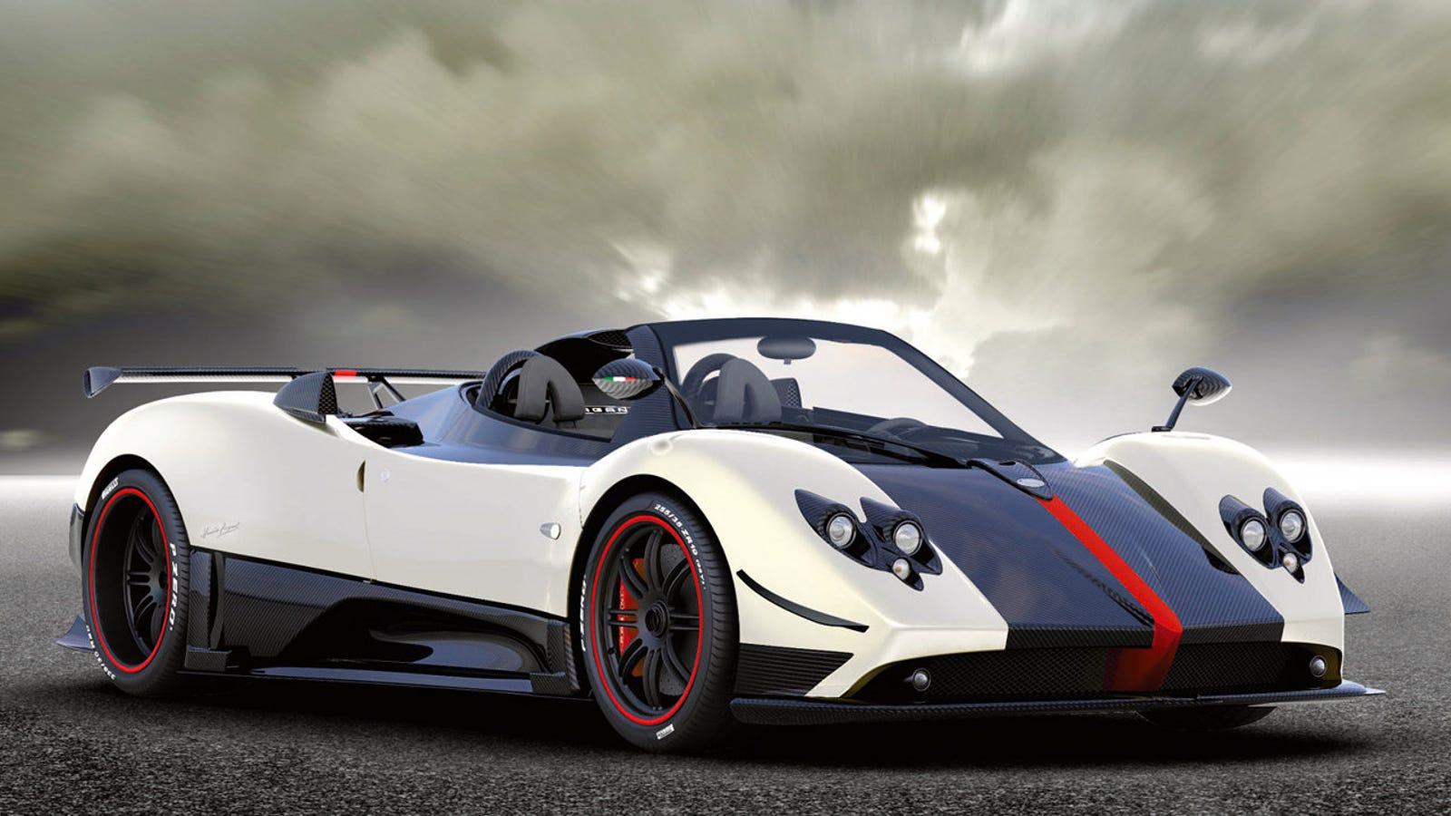 $1.8 Million, Limited-Edition Pagani Zonda Cinque Roadster