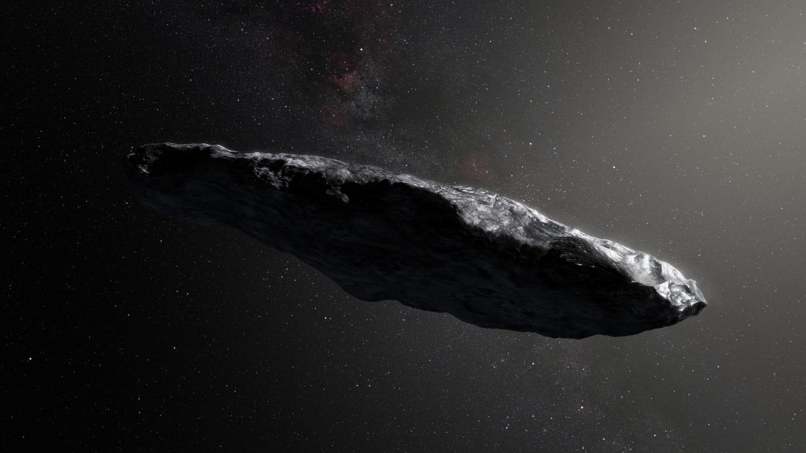 Study Finds Weird Interstellar Object 'Oumuamua Is Indeed a Smol Boi thumbnail