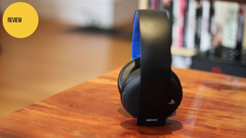 The PlayStation Gold Wireless Headset: Not Bad For A Hundred