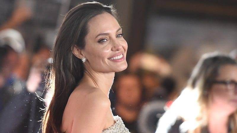 Illustration for article titled Angelina Jolie Says She 'Loves Being in Menopause'