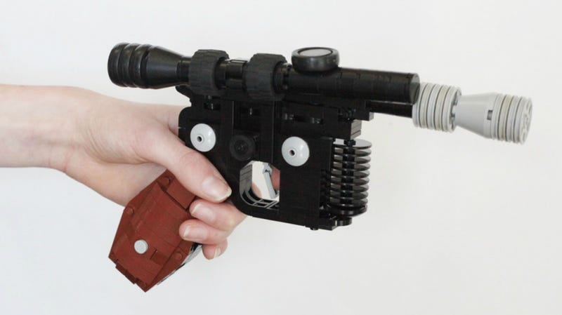 This Amazing Lego Recreation of Han Solo's Blaster Pistol Will Make ...