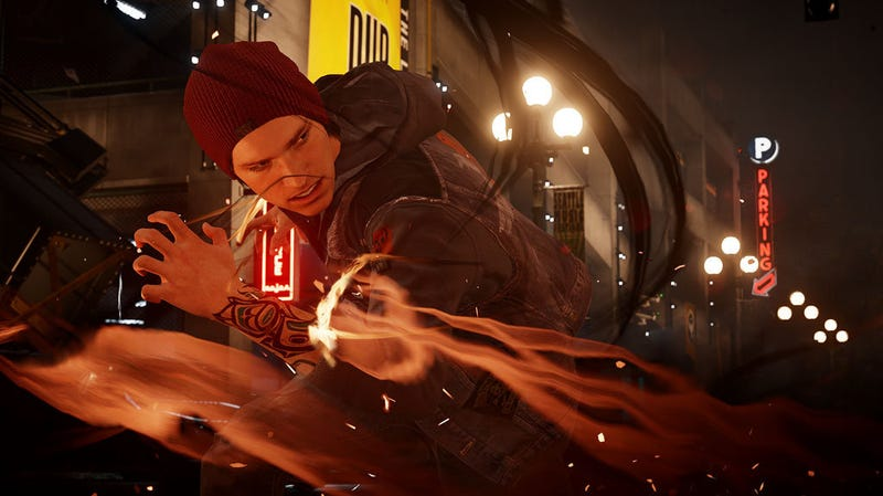 Illustration for article titled Infamous: Second Son Headlines September's PlayStation Plus Lineup [Updated]