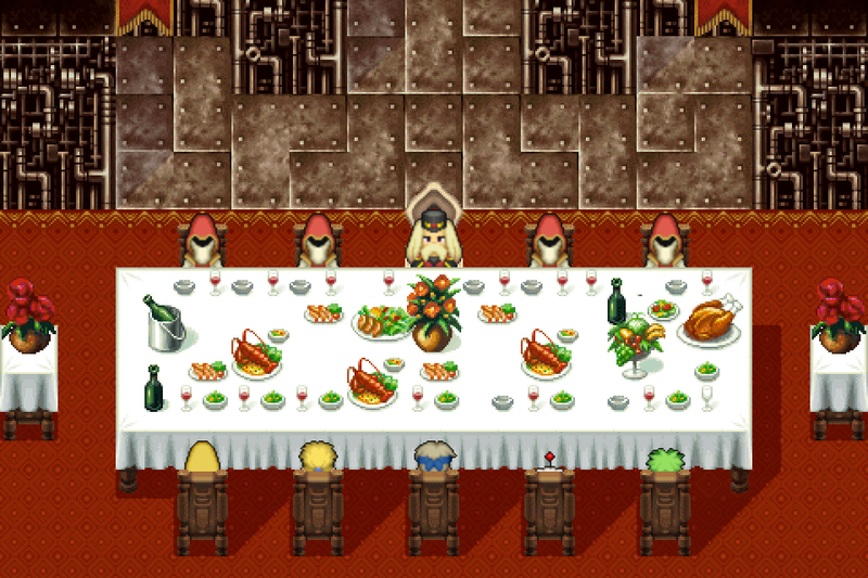 Illustration for article titled A Look Back At Final Fantasy VI's Banquet, Which Was Worse Than Any Thanksgiving Dinner