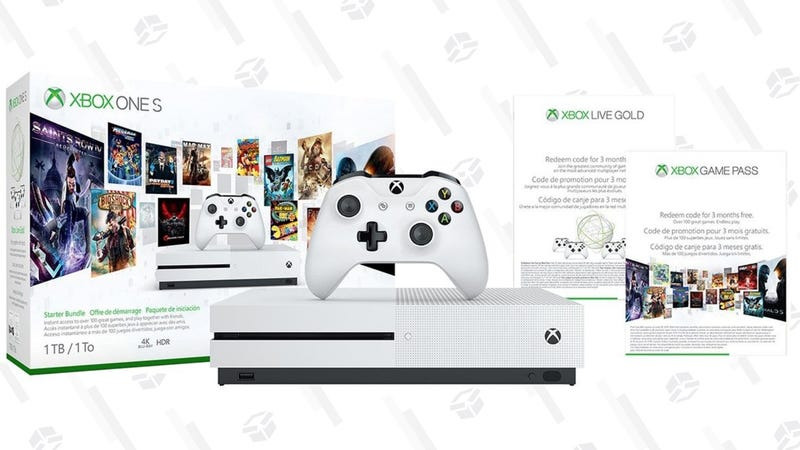 This Xbox One S Prime Day Deal Includes Game Pass and Gold