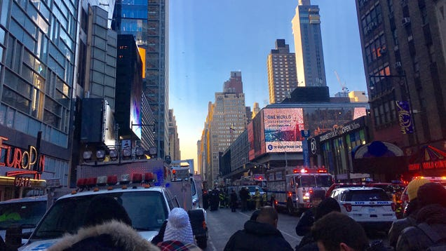 Explosion In Major NYC Bus Terminal,  Looks Like A Pipe Bomb,  NYPD Says (UPDATE: One In Custody, Four Injured)