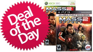 Illustration for article titled Mass Effect 2 For PS3 & Xbox 360 Is Your Reaper-Slaying Deal of the Day