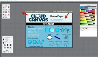 Illustration for article titled CloudCanvas Is a Snappy HTML5-Based Image Editor