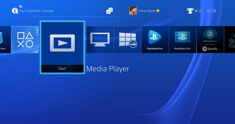 Illustration for article titled The PS4 Now Supports MKV Files