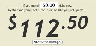 Illustration for article titled The Real Damage Calculates the True Cost of a New Purchase on Your Credit Card