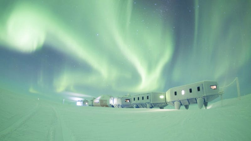 The portable Halley VI Research Station. (Image: BAS)
