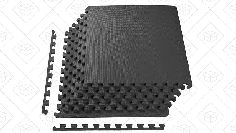 Foam Exercise Mats, 24 sq. feet, $16 after $1.25 coupon