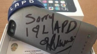 Cellphone broken and then signed by Rihanna goes for $66,500 on eBay.Twitter