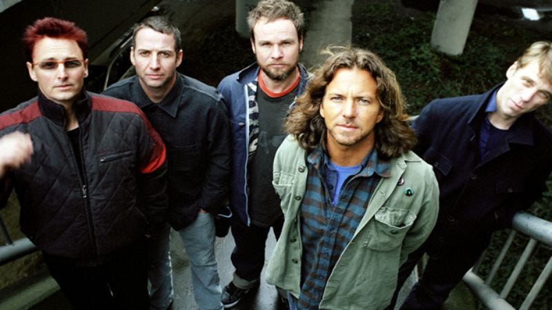 Illustration for article titled Pearl Jam Twenty
