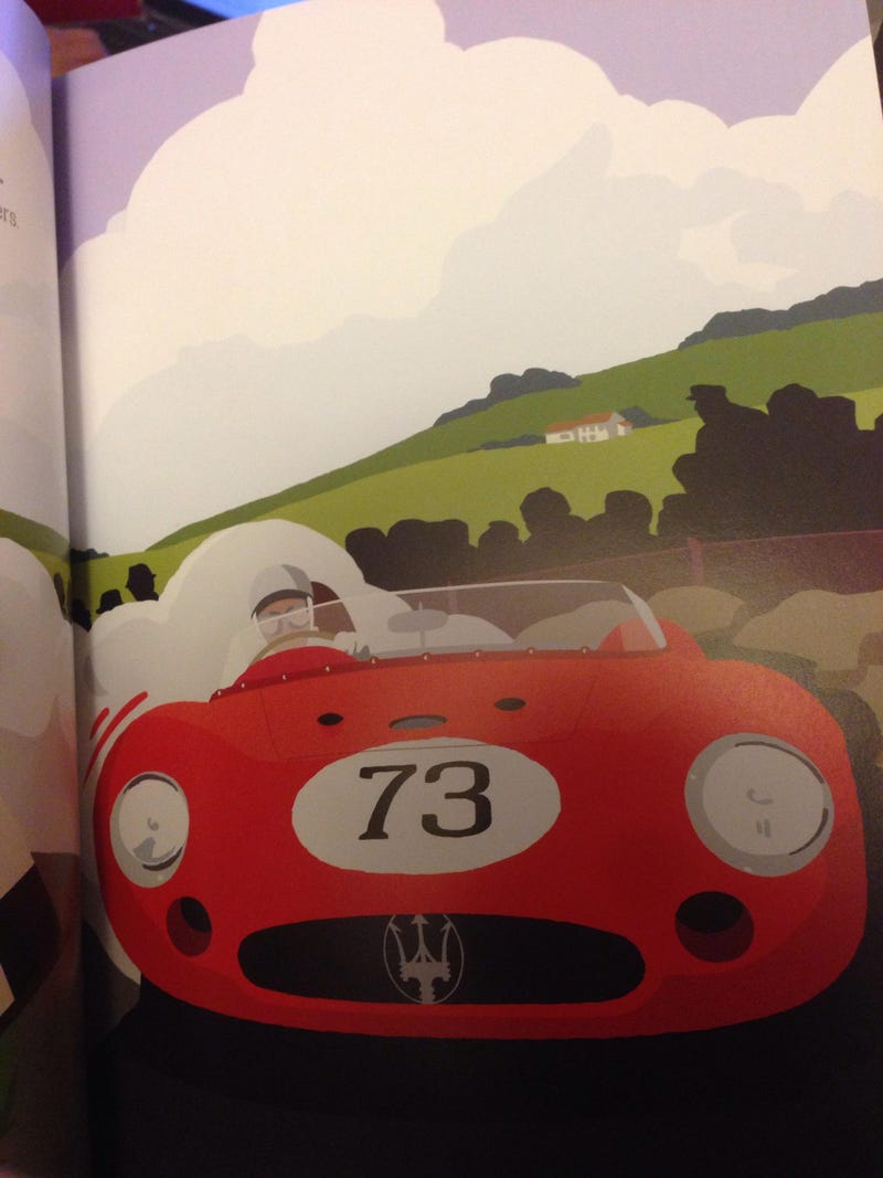 Illustration for article titled Got My Copy of Little Red Racing Car