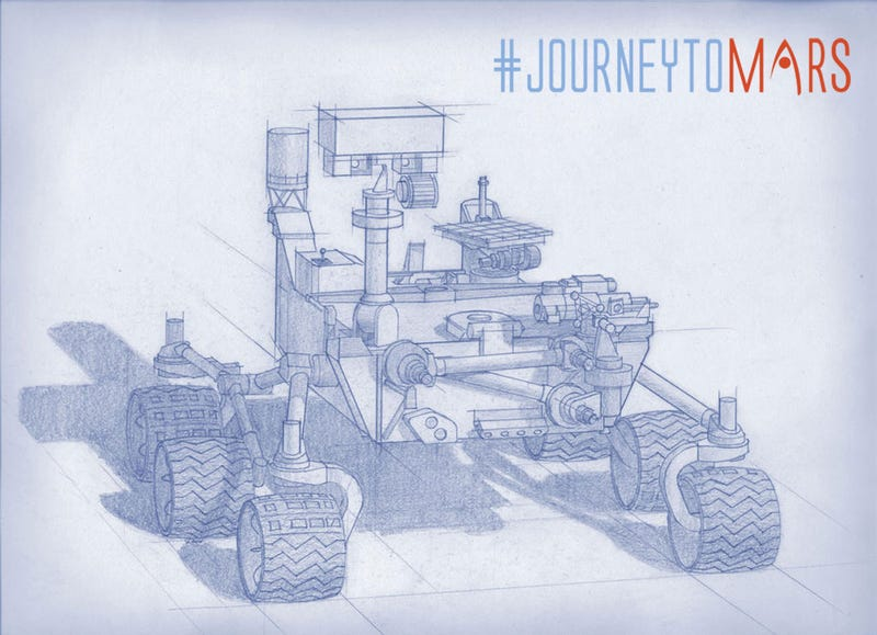 Illustration for article titled The 2020 Mars Rover Has Awesome Toys