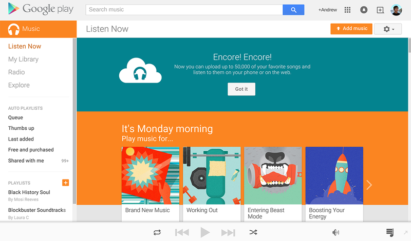 Illustration for article titled Google Play Music Is Now an Even Better Spotify Alternative