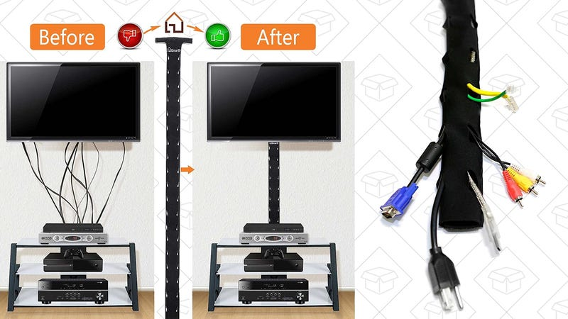 4-Pack Cable Management Sleeves, $10 with code 3R2GTR72