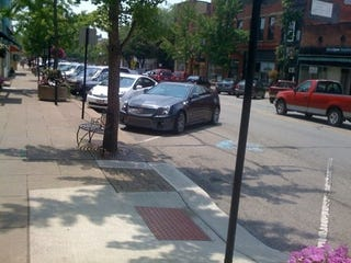 Illustration for article titled Cadillac CTS-V Coupe Spied In Oberlin, Ohio — Wait, Huh?