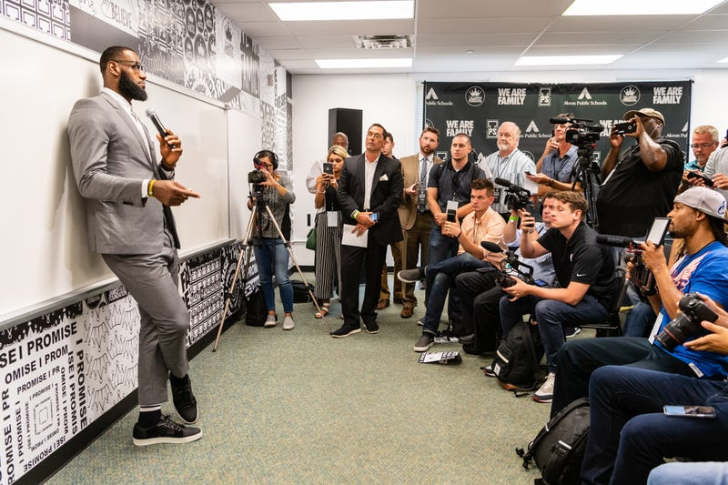 Illustration for article titled LeBron's I Promise School Boasts 'Extraordinary' Results