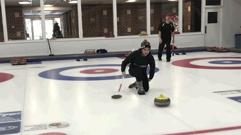 I Went Curling and Not Even Physics Could Save Me