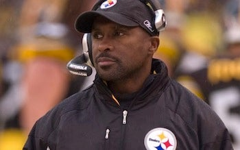 "Illustration for article titled Steelers Running Backs Coach ""Badly Burned"" In House Fire"