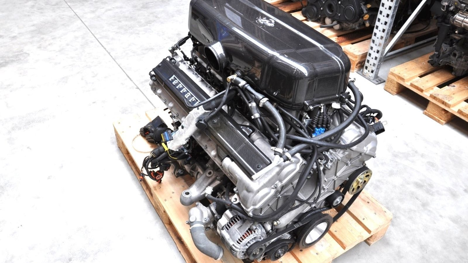you can buy this ferrari enzo engine for the price of a jaguar f-type