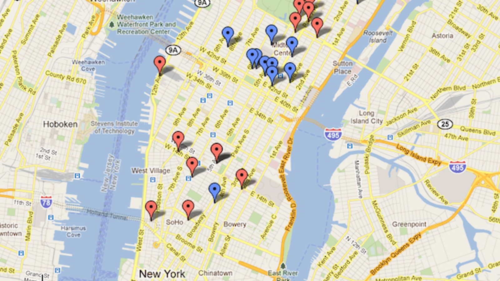 When in New York, Let Google Maps Help You Do as American