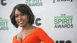 Angela Bassett arrives at the 2014 Independent Spirit Awards on March 1 in Santa Monica, Calif.Photo by ADRIAN SANCHEZ-GONZALEZ/AFP/Getty Images