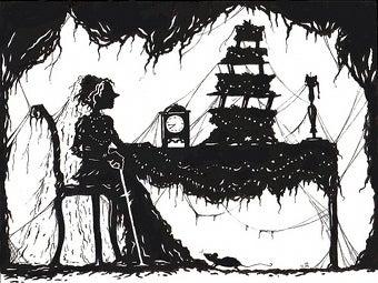 """Illustration for article titled Mystery Of """"Australia's Miss Havisham"""" Solved"""