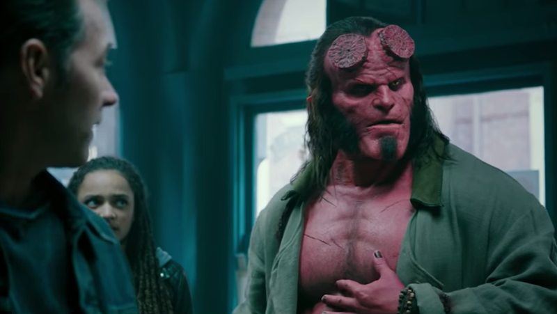 Illustration for article titled Hellboy can finally say bad words now that his new movie has an R-rating
