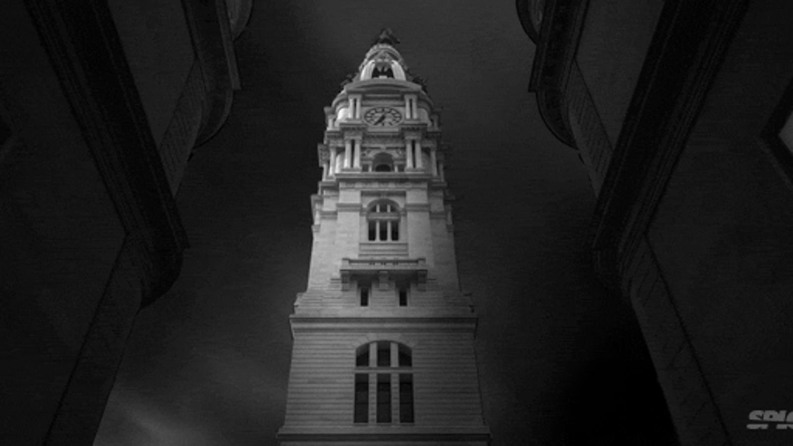 Time lapse: An empty city in black and white feels so eerie and lonely