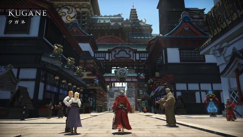 Illustration for article titled Final Fantasy XIV: Stormblood's New Zones Are So Pretty