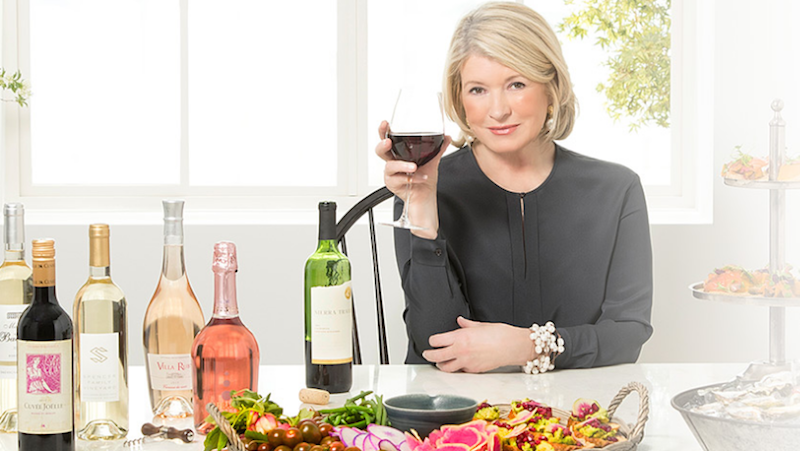 Lifestyle queen Martha Stewart taps wine sector with online business launch