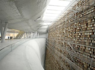 Illustration for article titled CGI Rendering Gives Us a Glimpse of the Stockholm Library of the Future