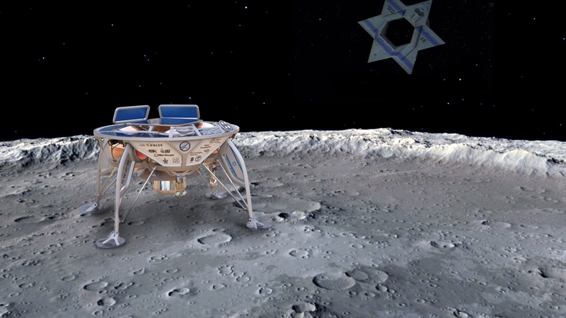 Illustration for article titled Israel Is Preparing to Send the First Privately-Funded Spacecraft to the Moon