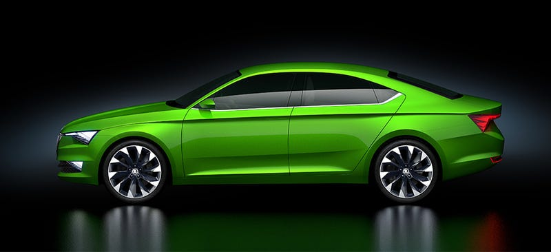 Illustration for article titled Skoda's new 'VisionC' concept is absolutely stunning