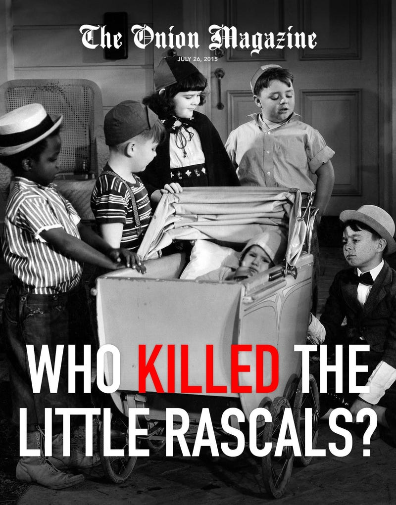 Illustration for article titled Who Killed The Little Rascals?