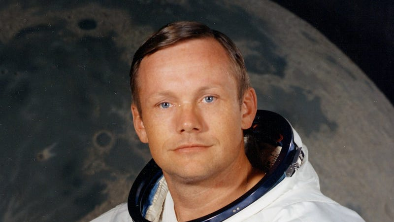 Illustration for article titled RIP Neil Armstrong, First Man on the Moon