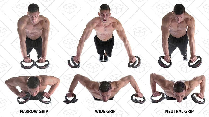 Legend Pushup Pushup Bars | $20 | Amazon