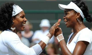 Illustration for article titled Sisters Are Hogging Wimbledon Titles For Themselves [UPDATED]