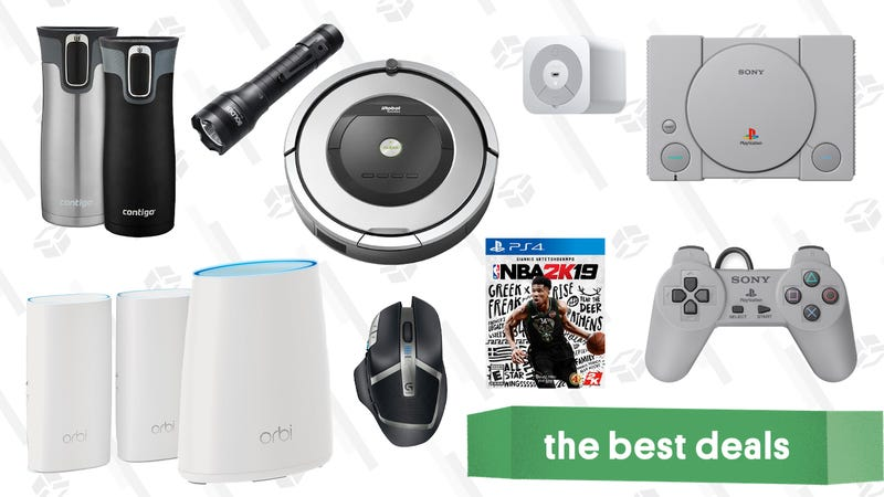 Illustration for article titled Tuesday's Best Deals: PlayStation Classic, Wemo Light Switch, NBA 2K19, and More