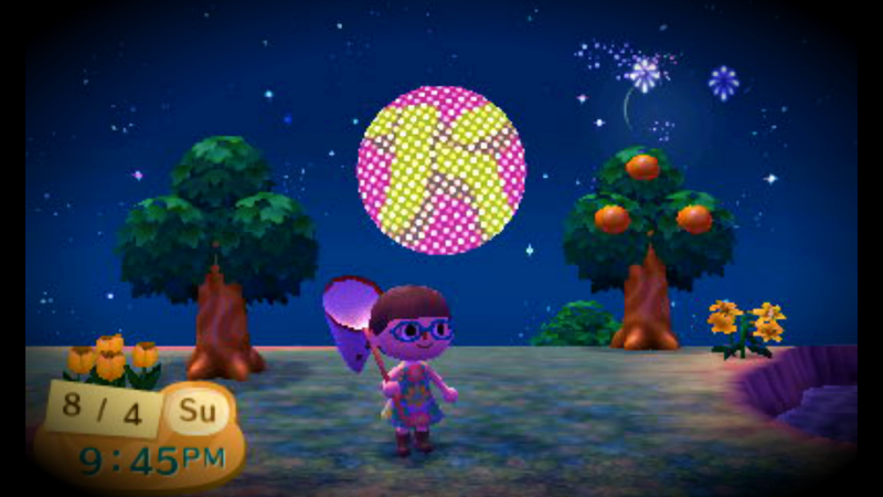 Illustration for article titled Fireworks Festival Fun in Animal Crossing