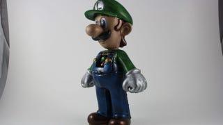 Illustration for article titled Luigi Mecha Ready To Destroy The Mushroom Kingdom