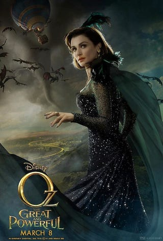 Illustration for article titled Oz the great and Powerful Posters