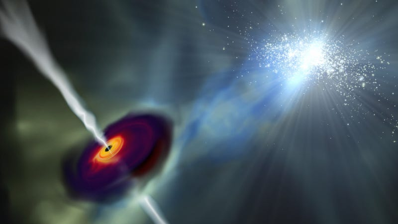 A Wild New Hypothesis For How The First Monster Black Holes Formed