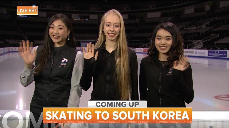 Illustration for article titled Bradie Tennell, Mirai Nagasu, And Karen Chen Selected To Represent U.S. Figure Skating At Olympics