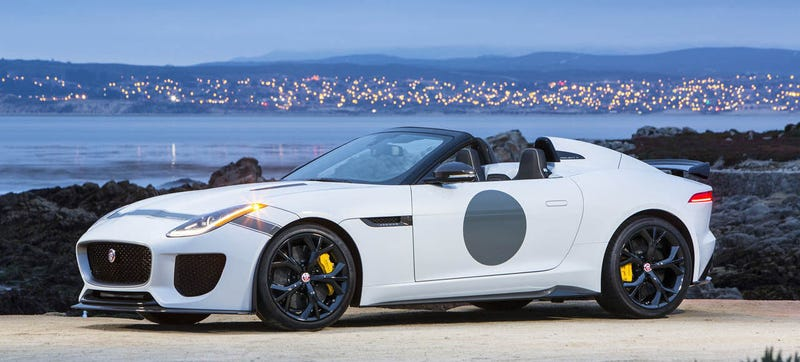 Illustration for article titled Is The Jaguar F-Type Project 7 Pretty Enough To Cost $165,000?